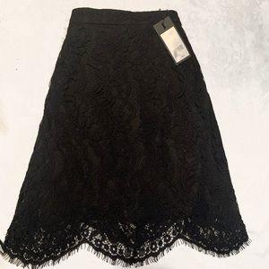 ✨ Dynamite Black Lace Skirt